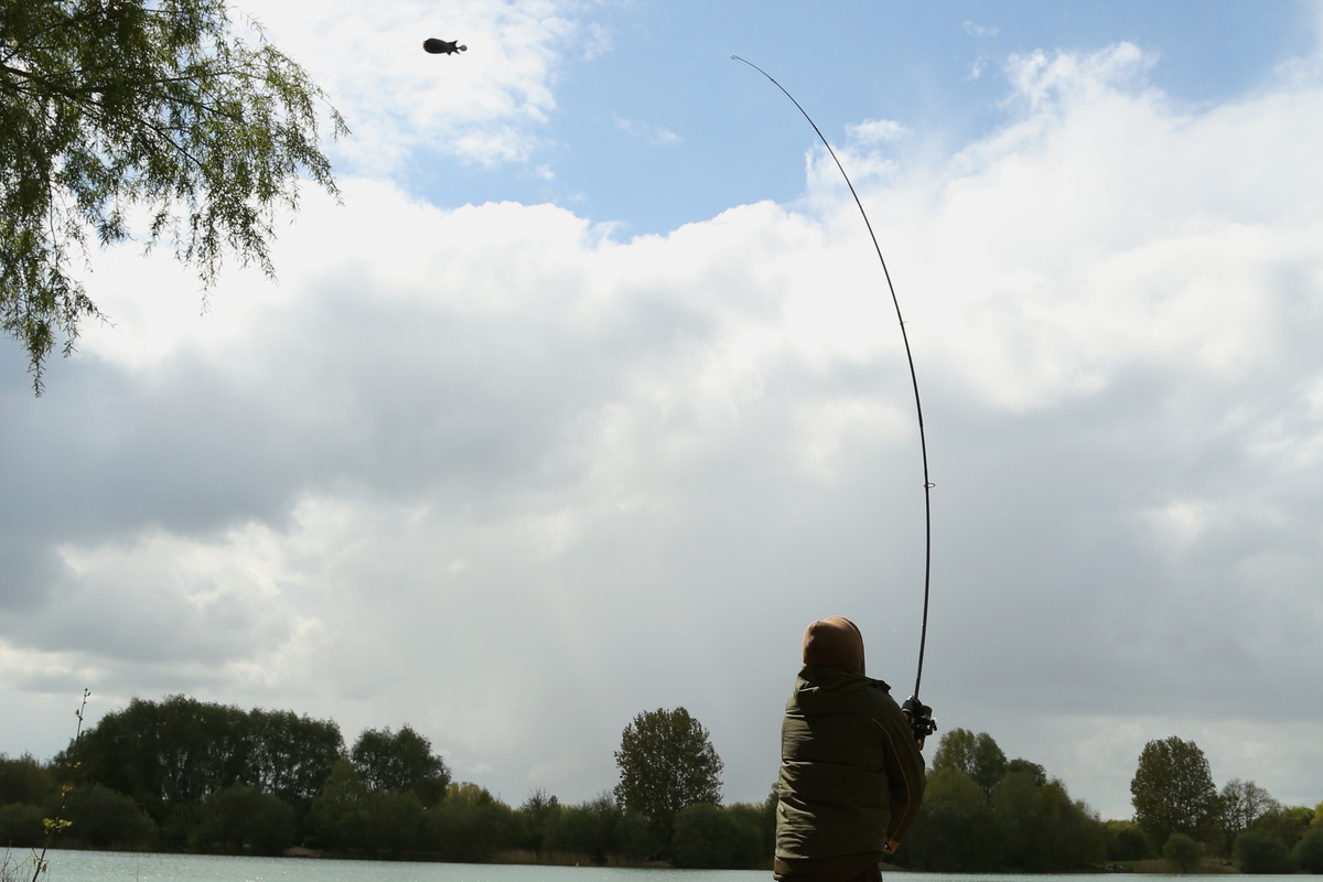 Working the Spomb and getting the bait out there