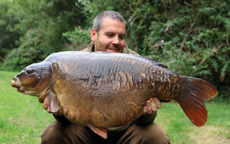 The Posh Sutton from Kingsmead 1 at 47lb 4oz