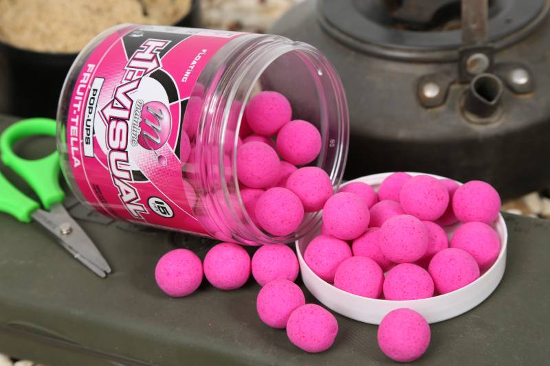 Pink coloured baits can be a bit of an outside bet for me, but you never know which colour will prevail.