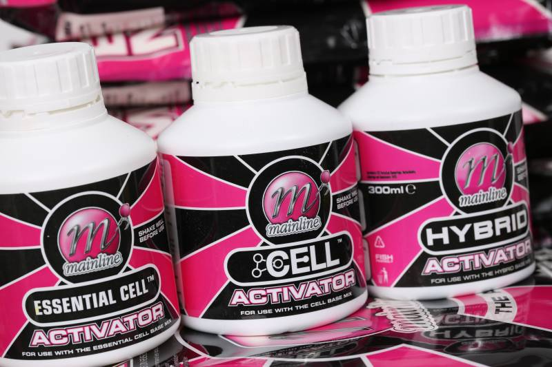 The Dedicated Activators are the liquid blends used to make the boilies, so it makes sense to use these liquids to rehydrate and enhance the baits