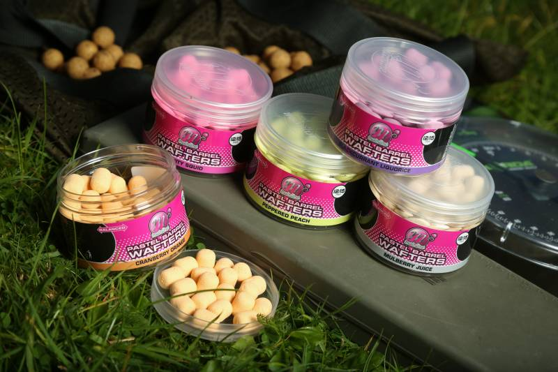 For me, the bright Pastel Barrel Wafters are the ideal hookbaits for solid bag fishing.