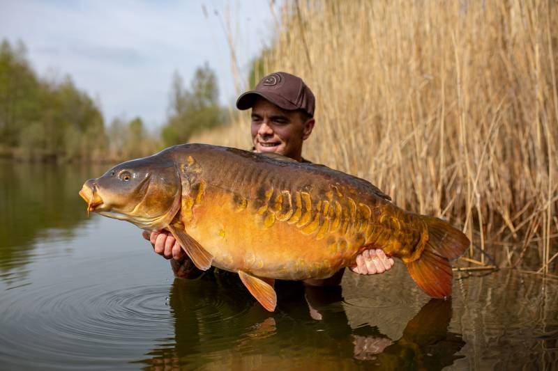A lovely early spring carp!
