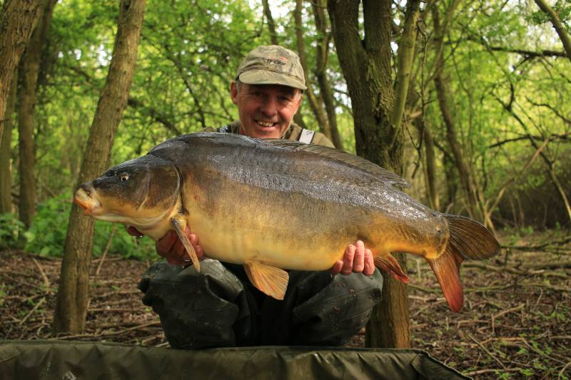 For me, mobility is a key element to catching carp at this time of year.