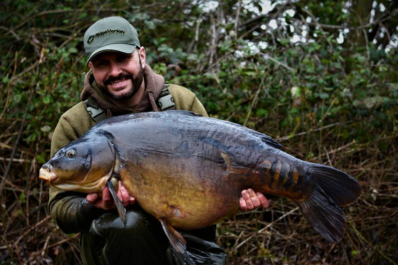 50lb 2oz! A fish known as Rodger The Dodger