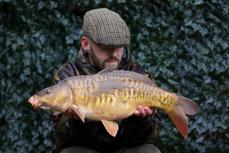 One of our biggest home grown carp at 9lb 13oz