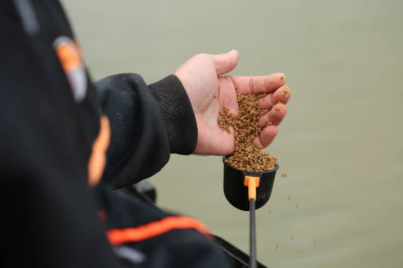 The 2mm Activated Pellets make a superb margin feed!