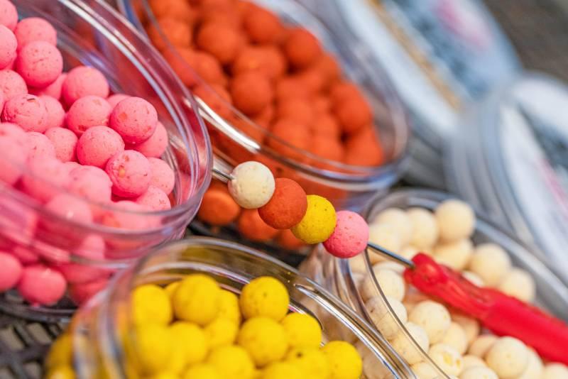 Four different flavour/colour combo's
