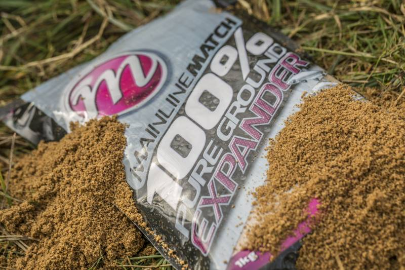 The 100% Pure Ground Expander is a real multi-purpose mix