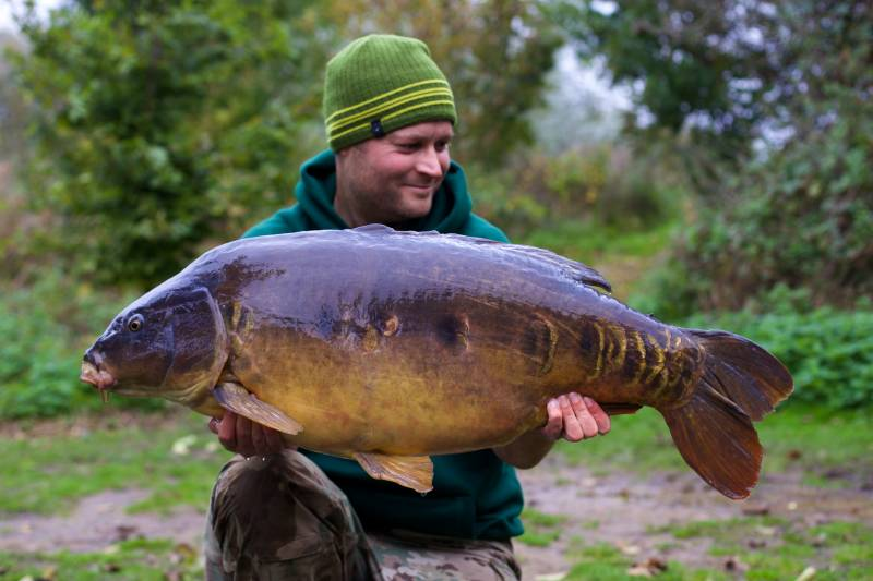 An autumn mirror when the fact I'm using an established bait and food source is kicking in