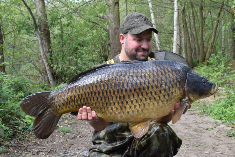 My aim is not to just catch a single fish, but build the session into a hit of captions like this Sandhurst common