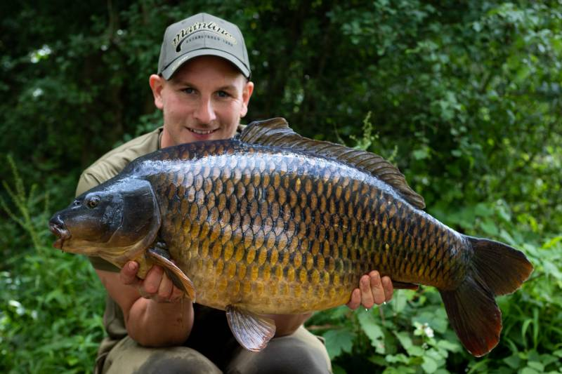 There should be plenty of hungry carp like this one!