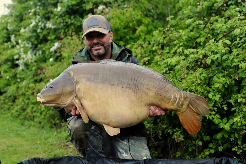 My new 56lb 4oz PB caught adapting my approach with these tactics