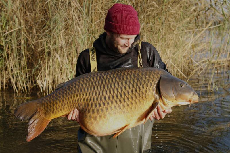 Big, awesome, autumn carp – the rewards of getting the location right!