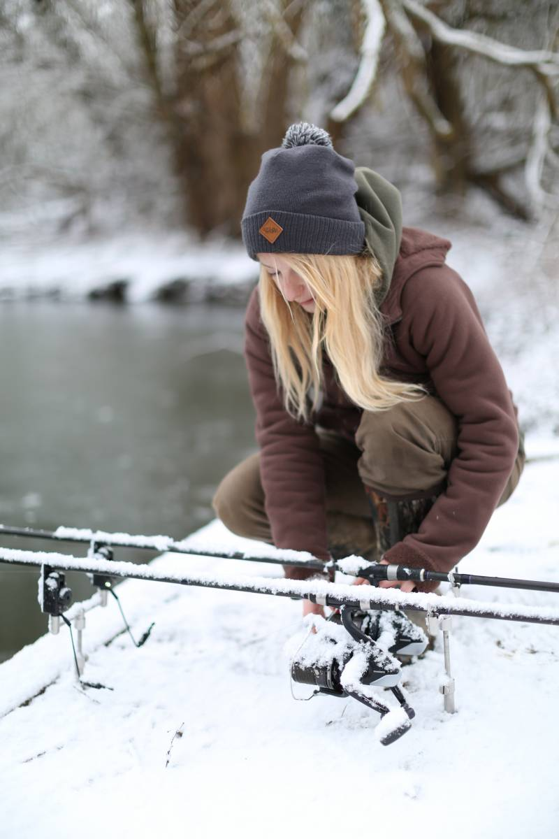 : Luckily, I get to fish most weekends, come rain or shine (or snow)