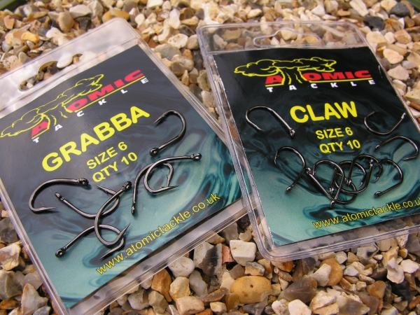 The sharpest hooks I know. Grabba for a pop up and a Claw for a bottom bait