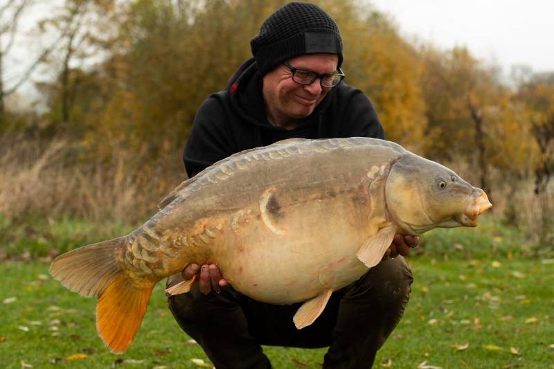 A nice 30lb 8oz mirror to keep the confidence going!