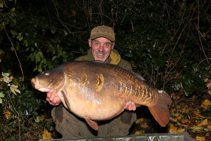 A start to a new winter, with a familiar approach and outcome as this 48lb Wraysbury mirror proved!