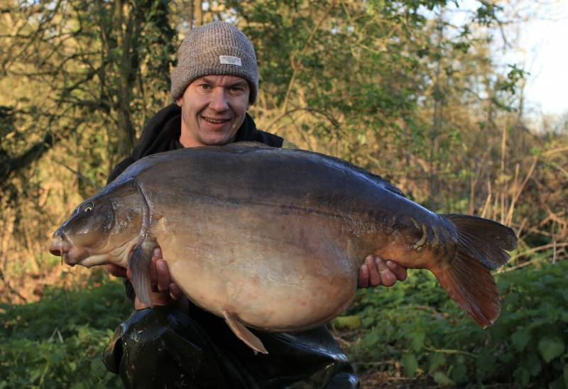 Returning to my main water in March all fresh headed paid off massively with one of two 40's on my return