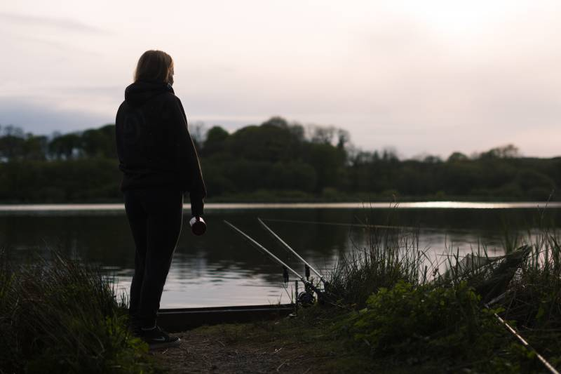 Watching the water and trying to gauge the activity levels of the carp is vital to using the right amount of bait