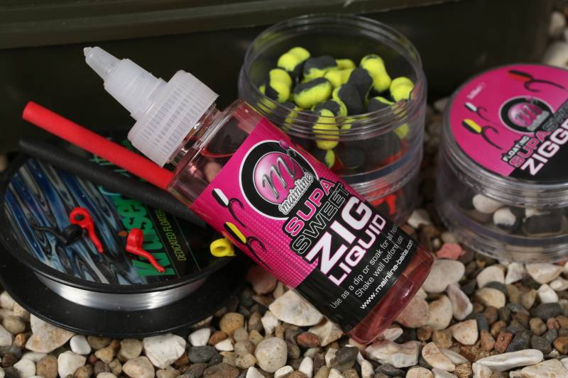 The Supa Sweet Zig Liquid can seriously boost the attraction of your hookbait!