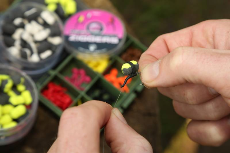 Available in three colours, each combined with black; the Supa Sweet Ziggers are must have hookbait