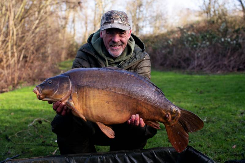 Staying mobile is a great carp catching method early spring