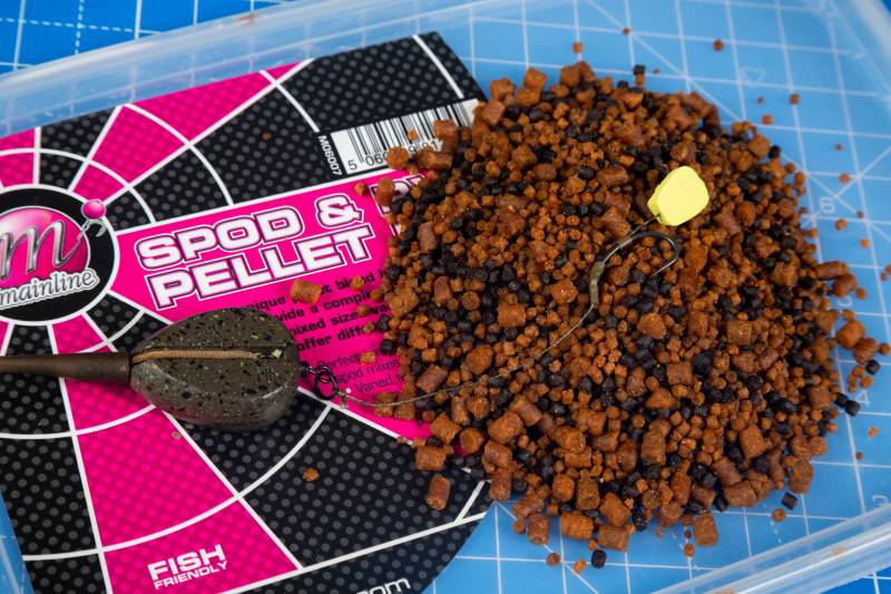 Most carp are brought up on pellets and a solid bag presents them perfectly at this time of year