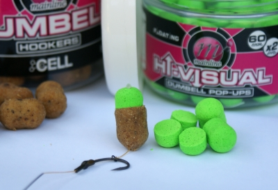Hi-Visual Dumbell pop-ups – the solution for all your hookbait variations