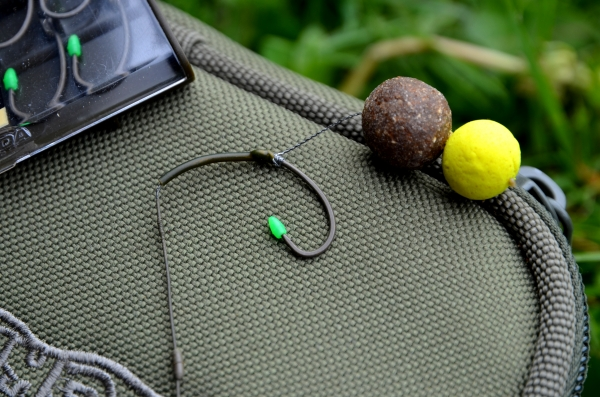 A Snowman presentation means that your hookbait is much lighter