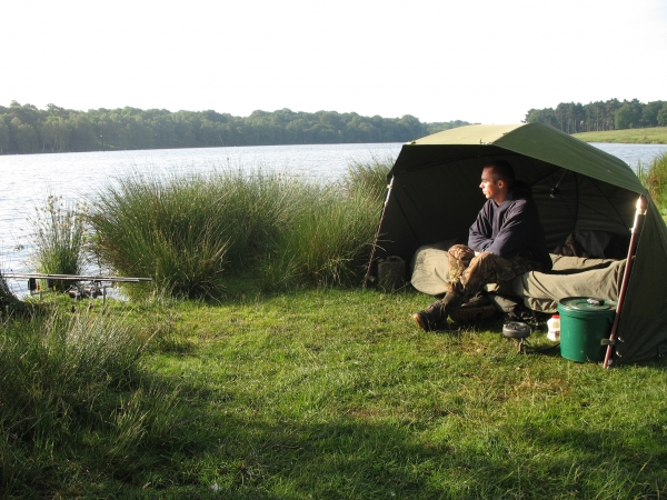 Fishing for big pit carp can be a daunting task