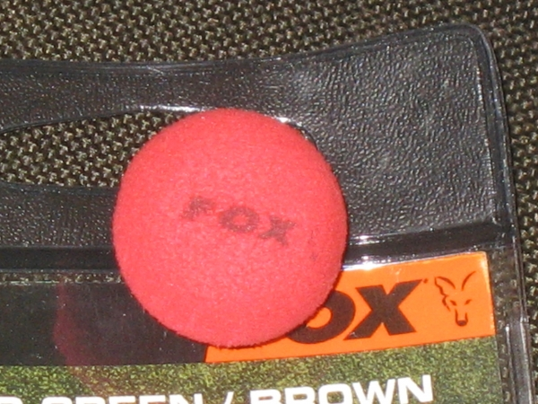 My hook-baits have the Fox bait poppers inside them in 22mm just to take the weight out of them