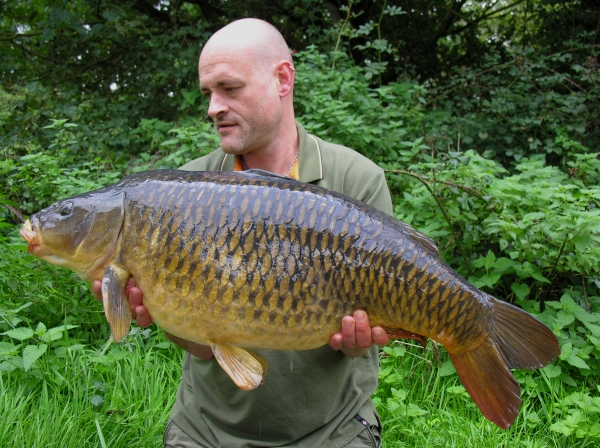 A 29.02 common caught over a couple kilos of bait
