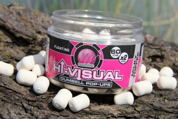 Milky Toffee Dumbell pop-ups, a great alternative hook-bait to combine with Cell