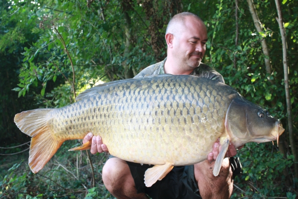 A bionic 44lb 4oz common, get in!