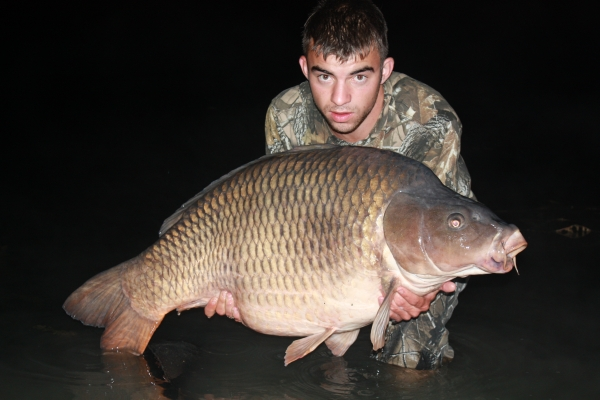 A massive 64lb common for Matt Miller on Activ-8!
