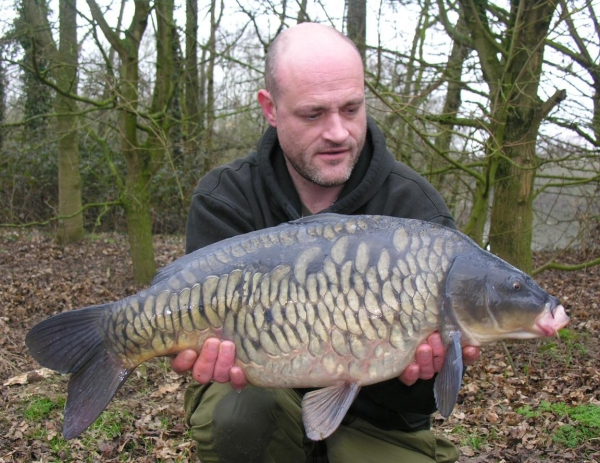 A very welcome fully-scaled carp