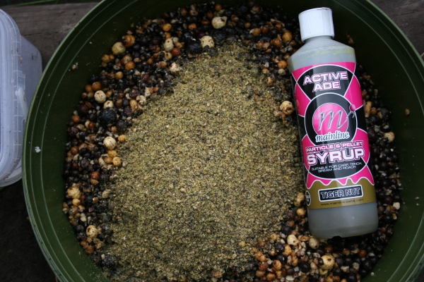 Add some ACTIVATED GROUNDBAIT and a ACTIVE ADE PARTICLE SYRUP to the mix.