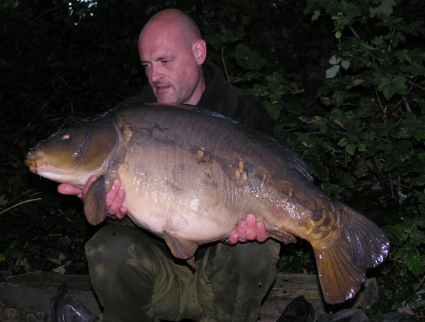 Second trip to the venue – 33lb 14oz!