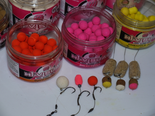 Mainline Hi-Vis hookbaits - I dont know a carp that could resist one of these!