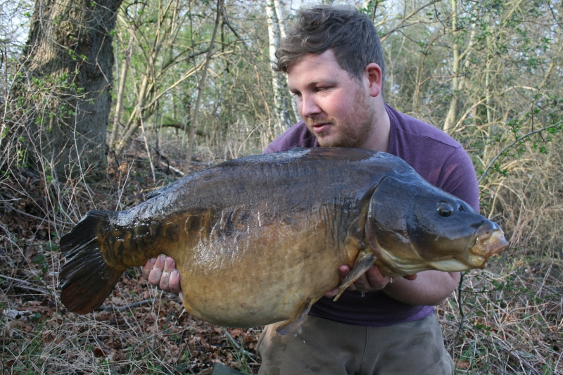 38lb from a low stock 60 acre gravel pit - Active 8