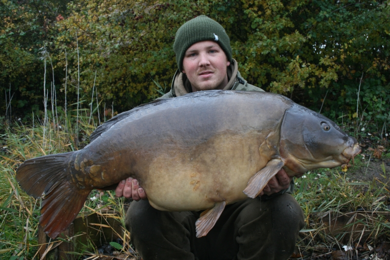 Stella from the Essex Manor at 46.04. Caught on the Cell/Milky toffee on a snowman rig.